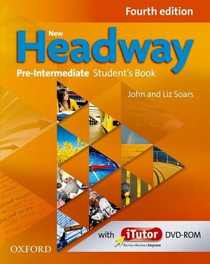 NEW HEADWAY 4ED PRE-INTER BOOK AND ITUTOR DVD-ROM
