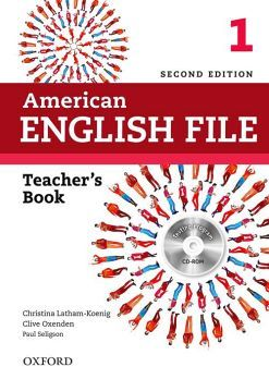 AMERICAN ENGLISH FILE 1 2ED.         (TEACHER'S BOOK/CD)
