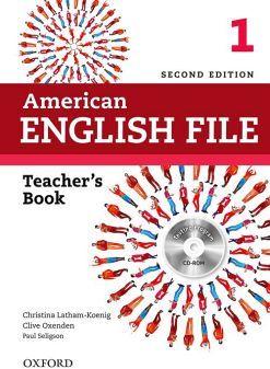 AMERICAN ENGLISH FILE 1 2ED.         (TEACHER'S BOOK/CD)