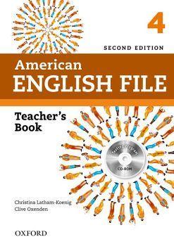 AMERICAN ENGLISH FILE 4 2ED.           (TEACHER'S BOOK/CD)