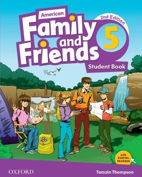 AMERICAN FAMILY & FRIENDS 2ED 5 STUDENT BOOK