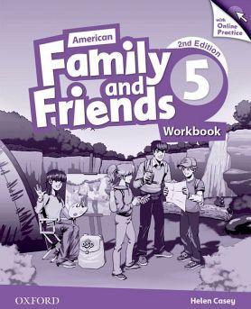 AMERICAN FAMILY & FRIENDS 2ED 5 WORKBOOK W/ONLINE PRACTICE