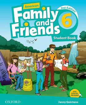 AMERICAN FAMILY & FRIENDS 2ED 6 STUDENT BOOK