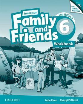 AMERICAN FAMILY & FRIENDS 2ED 6 WORKBOOK W/ONLINE PRACTICE