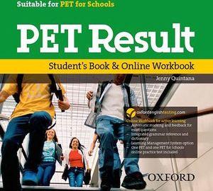 PET RESULT:STUDENT'S BOOK & ONLINE WORKBOOK