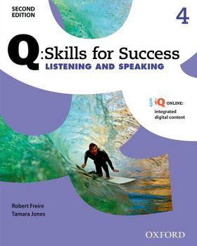 Q:SKILLS FOR SUCCESS LIST & SPEAK 4 2ED BK W/ONLINE PACK