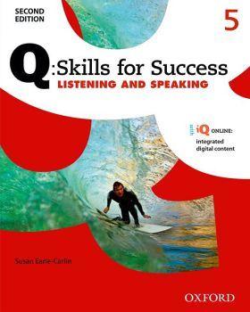 Q:SKILLS FOR SUCCESS LIST & SPEAK 5 2ED BK W/ONLINE PACK