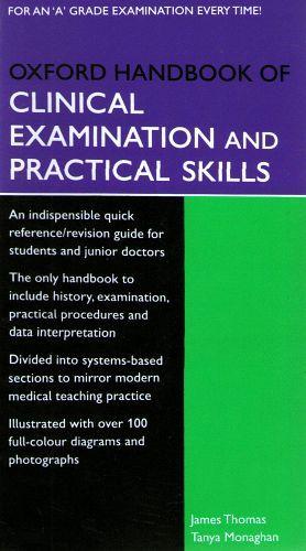 OXFORD HANDBOOK OF CLINICAL EXAMINATION AND PRACTICAL SKILLS