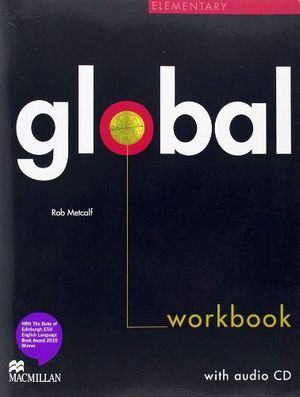 GLOBAL ELEMENTARY WORKBOOK NO KEY W/AUDIO CD