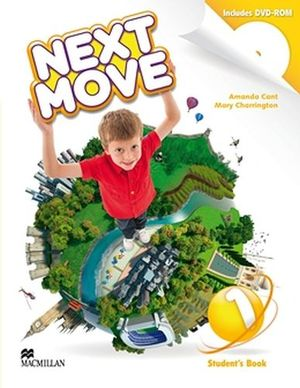 NEXT MOVE 1 STUDENT BOOK & DVD-ROM PACK