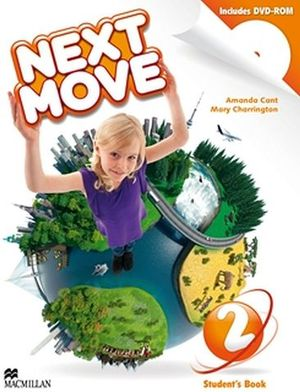 NEXT MOVE 2 STUDENT BOOK & DVD-ROM PACK