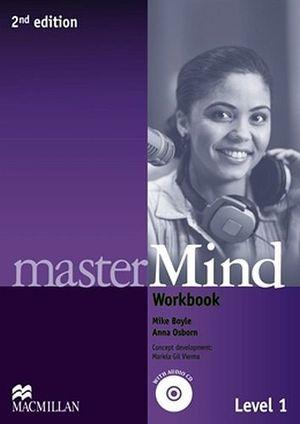 MASTERMIND 2ED 1 PRINT WORKBOOK AND AUDIO CD NO/KEY