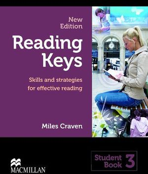 READING KEYS 3 STUDENT'S BOOK (NEW EDITION) -SKILLS AND STRATEG.-