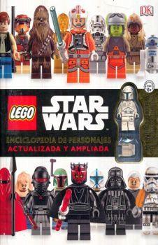 LEGO STAR WARS -ENCICLOPEDIA DE PERSONAJES- (C/FIGURA/EMPASTADO)