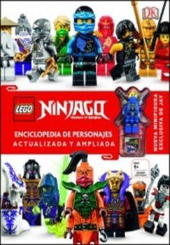 LEGO NINJAGO -ENCICLOPEDIA DE PERSONAJES- (C/FIGURA/EMPASTADO)