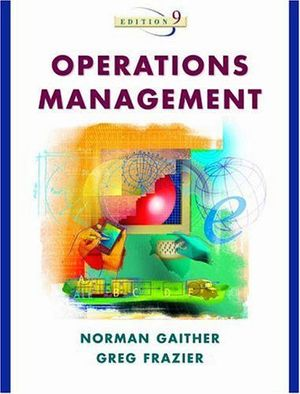 OPERATIONS MANAGEMENT 9ED. (WITH 2 CD)
