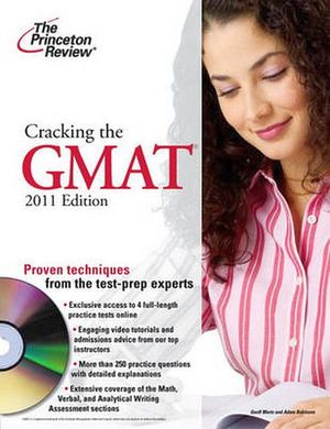 CRACKING THE GMAT W/DVD