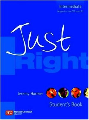 JUST RIGHT INTERMEDIATE BOOK (BRITISH)-CENGAGE-