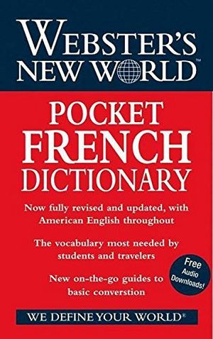 WEBSTER'S NEW WORLD POCKET FRENCH DICTIONARY ING-FRANCES