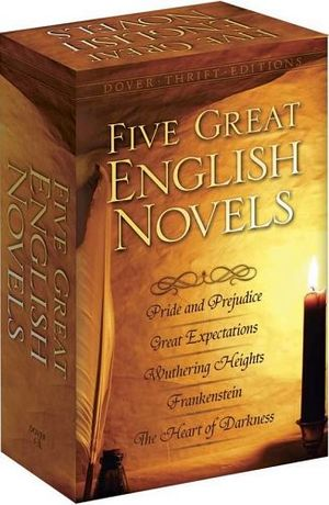 FIVE GREAT ENGLISH NOVELS BOXED SET