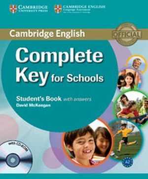 COMPLETE KEY FOR SCHOOLS STUDENT'S BK W/ANSWER AND CD-ROM