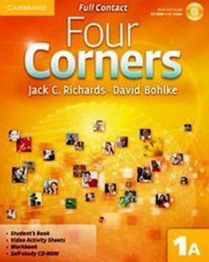 FOUR CORNERS 1A FULL CONTACT W/SELF-STUDY CD-ROM