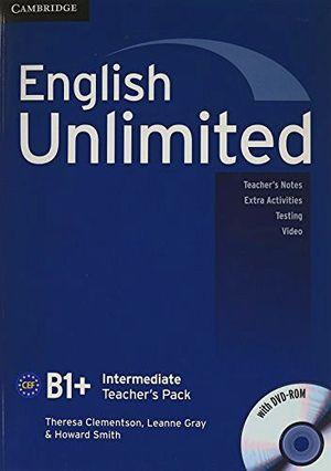 ENGLISH UNLIMITED INTERMEDIATE TEACHER'S BOOK PACK