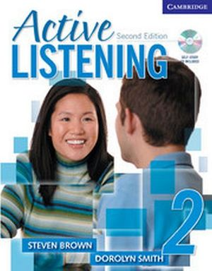 ACTIVE LISTENING 2 STUDENT'S BOOK W/SELF STUDY AUDIO CD 2ED.