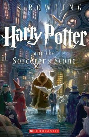 HARRY POTTER # 1: THE SORCERER'S STONE NEW ED