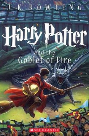HARRY POTTER # 4: THE GOBLET OF FIRE NEW ED