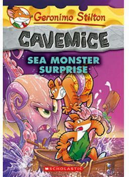 GERONIMO STILTON CAVEMICE # 11: SEA MONSTER SURPRISE