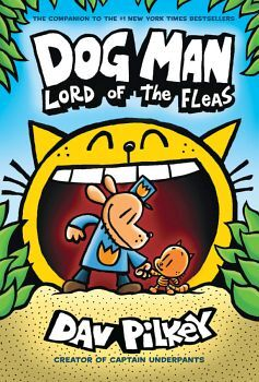 DOG MAN # 5: LORD OF THE FLEAS