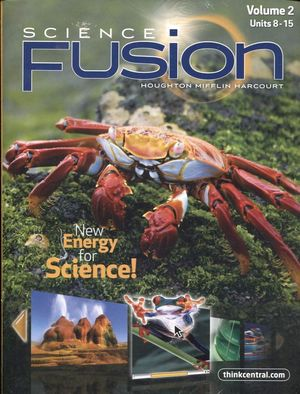 SCIENCE FUSION 5 STUDENT INTERACTIVE WORKTEXT