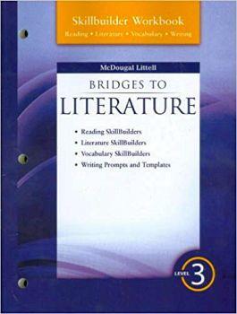 BRIDGES TO LITERATURE LEVEL 3 SKILLBUILDER WORKBOOK '08