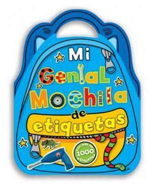 MI GENIAL MOCHILA DE ETIQUETAS (C/ETIQUETAS)