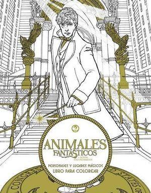 ANIMALES FANTASTICOS/PERSONAJES Y LUGARES MAG. (LIBRO P/COLOREAR)