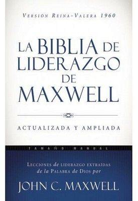BIBLIA DE LIDERAZGO DE MAXWELL (REINA-VALERA 1960/AZUL)