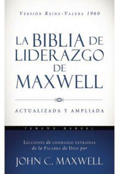 BIBLIA DE LIDERAZGO DE MAXWELL (REINA-VALERA 1960/AZUL/EMPASTADO)