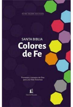 SANTA BIBLIA COLORES DE FE (EMPASTADO)