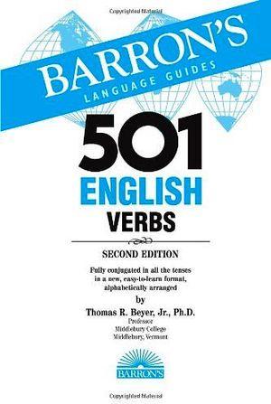 501 ENGLISH VERBS W/CD-ROM 2TH