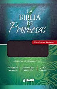 BIBLIA DE PROMESAS, LA -ED.DE REGALO- (NEGRO)