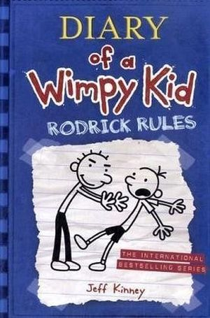 DIARY OF A WIMPY KID #2 RODRICK RULES IE