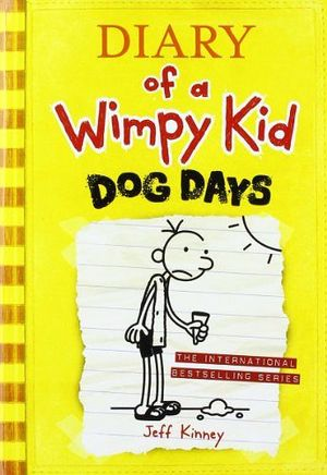 DIARY OF A WIMPY KID #4 DOG DAYS  IE