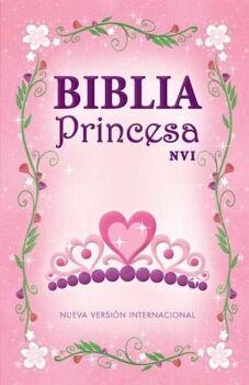 BIBLIA PRINCESA                           (EMPASTADO/ROSA/NVI)