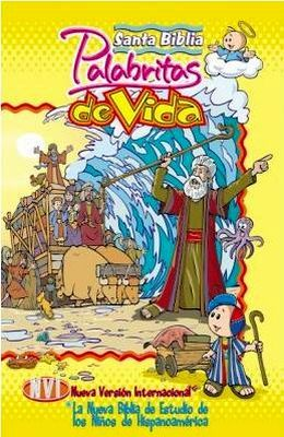 SANTA BIBLIA NVI PALABRITAS DE VIDA  (EMPASTADA)