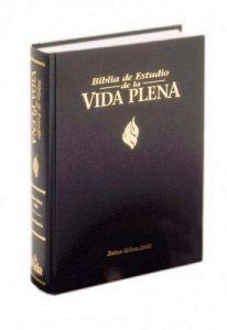 BIBLIA DE ESTUDIO DE LA VIDA PLENA   (CAJA/CON INDICE)