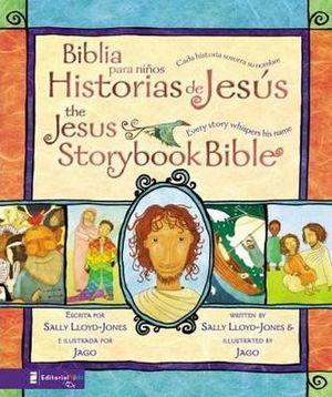 BIBLIA PARA NIÑOS HISTORIAS DE JESUS (EMPASTADO/BILINGUE)