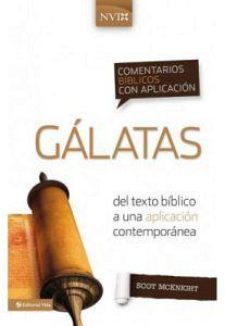 GALATAS           NVI     (COMENTARIOS BIBLICOS C/APLICACION/EMP)