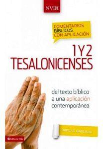 1 Y 2 TESALONICENSES  NVI (COMENTARIOS BIBLICOS C/APLICACION/EMP)