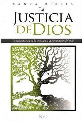 SANTA BIBLIA -LA JUSTICIA DE DIOS/EMPASTADO- (NVI)